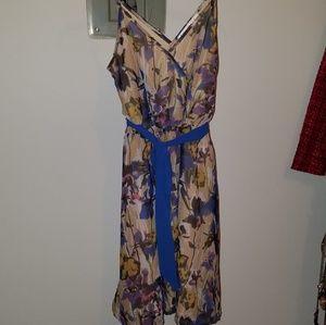 Flower themed dress